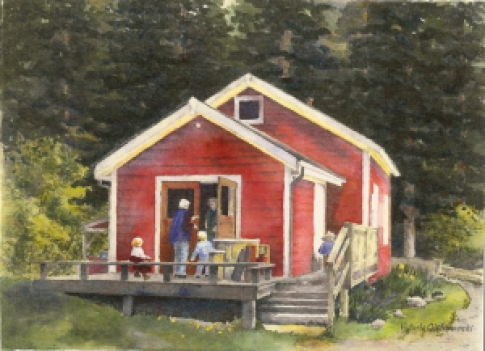 Salt Spring Island Preschool Little Red